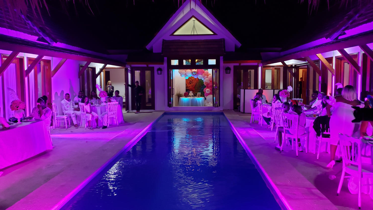 pool party dinner didea punta cana