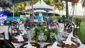 setup reception events and wedding by didea punta cana