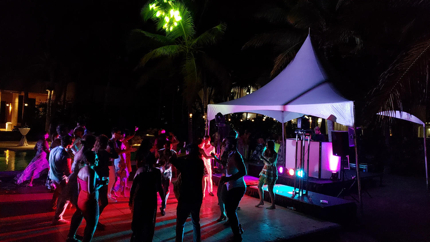 party dj tents equipment rental punta cana
