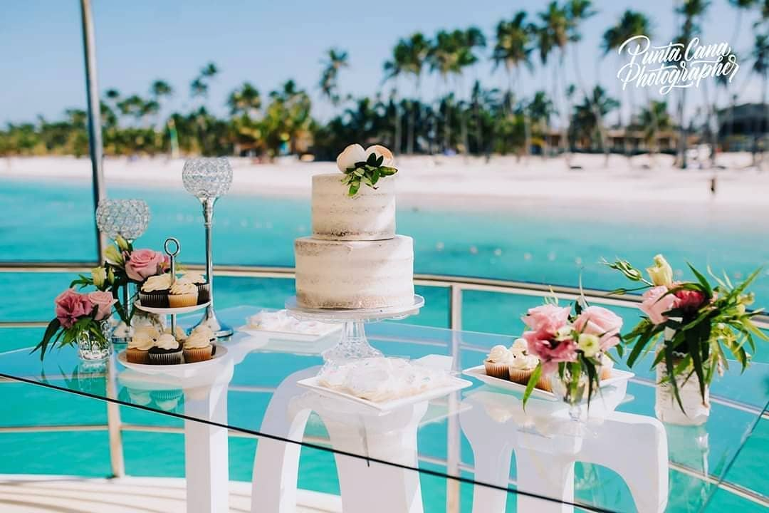 boat cake wedding event punta cana venue didea weddings