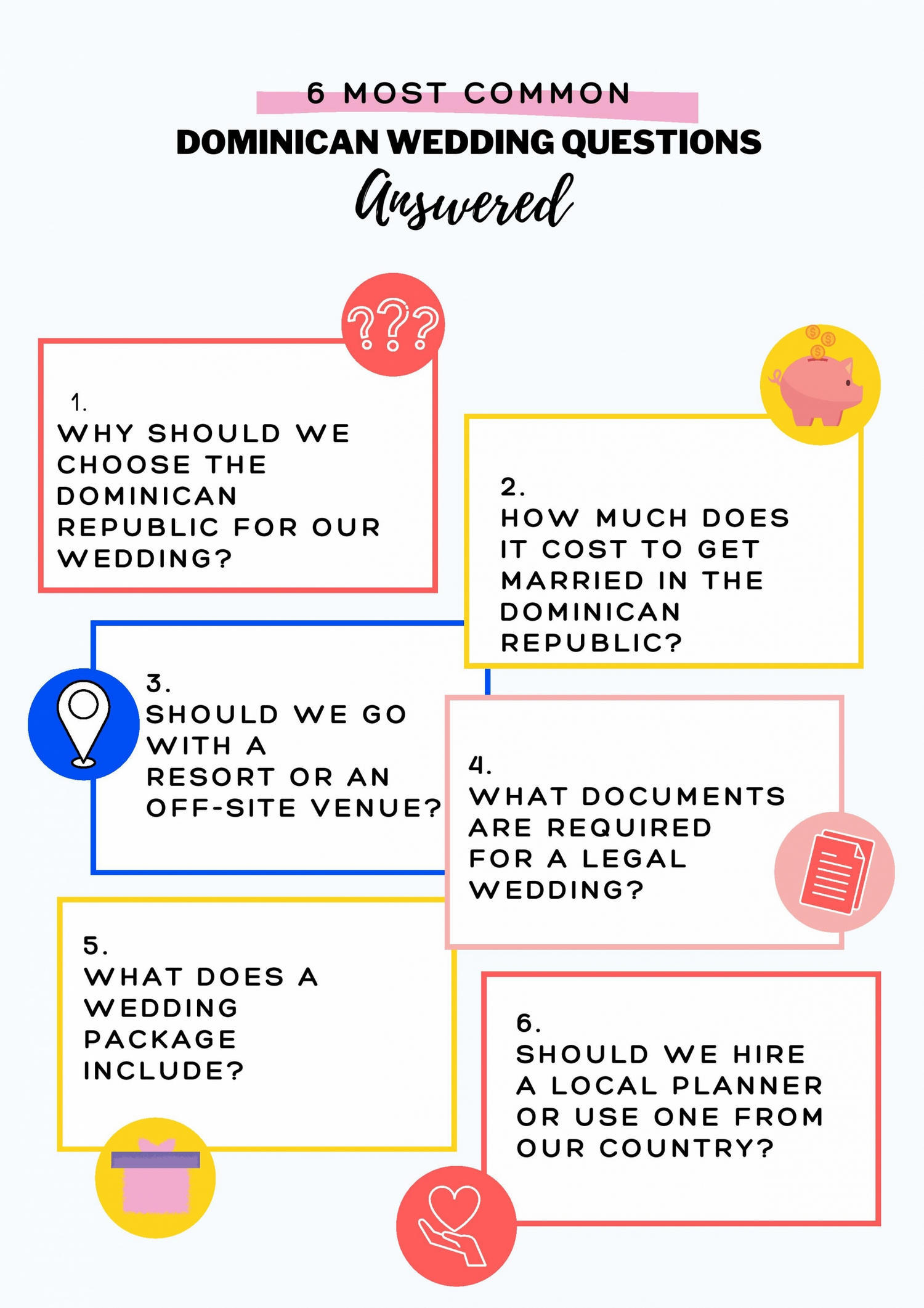 Dominican Wedding Questions Answered by DIDEA Punta Cana