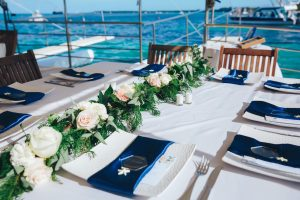 event boat punta cana wedding
