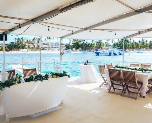wedding and event boat punta cana