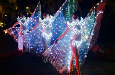 Led Wings Show Punta Cana by Didea Entertainment